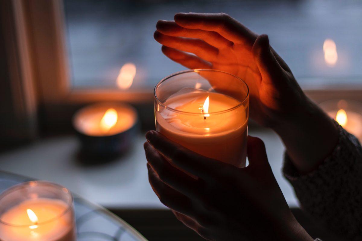 candele di natale accendere da fasoli piante
