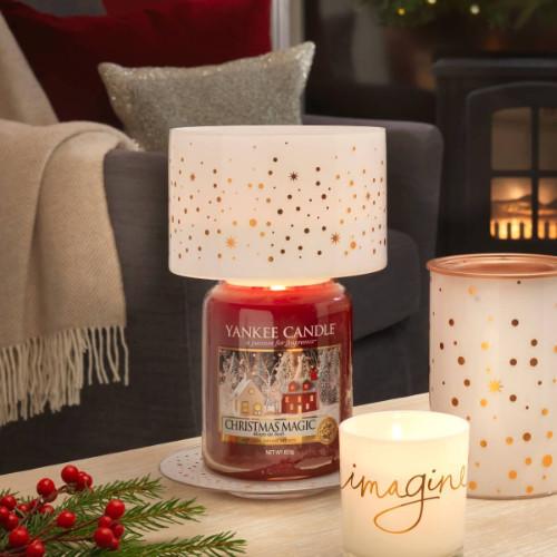 yankee candle di dicembre da fasoli piante